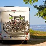 Fahrzeug mit Fahrrad - Übersicht der Wohnmobil-Fahrzeuge