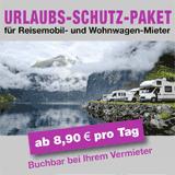 Urlaubs-Schutz-Paket zur Wohnmobilvermietung ab 8.90 € pro Tag